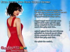 Hitha Assata Heena Godak Genalla Dunna Sinhala Lyric