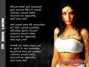 Nil Wana Lande Wel Ipa Nelle Sinhala Lyric