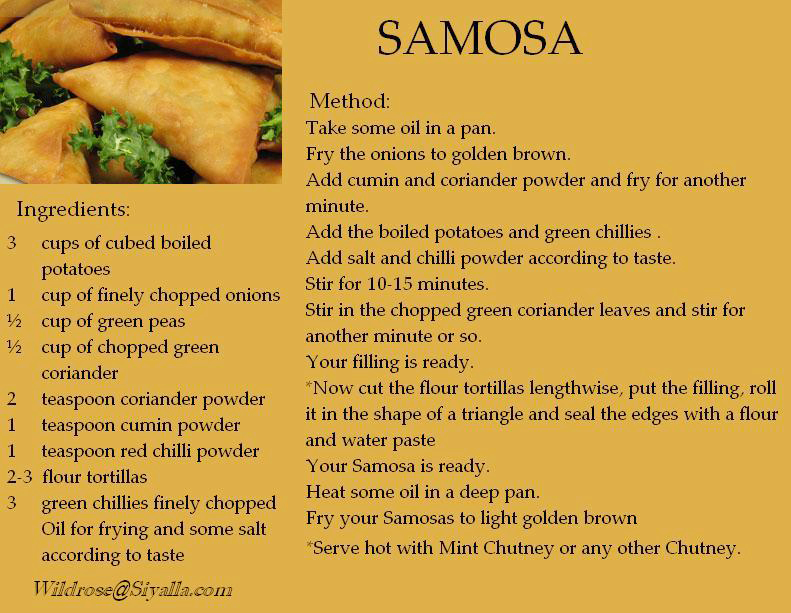 Indian Food Recipes In Sinhala